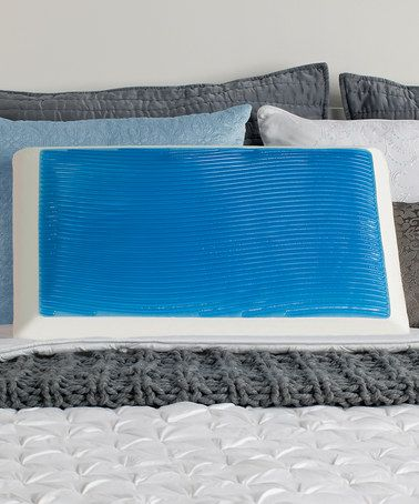 Look At This Zulilyfind Blue Sealy Memory Foam Hydraluxe Gel