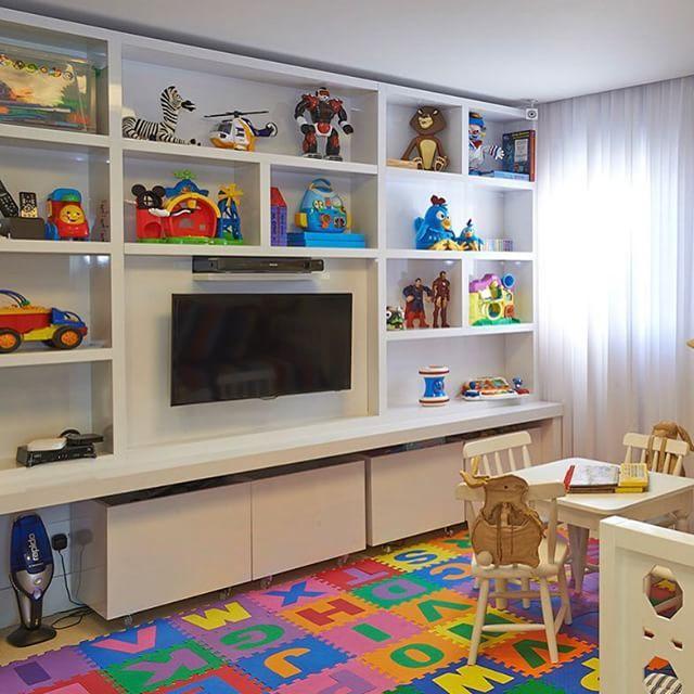 Resultado de imagem para brinquedoteca em casa para meninos