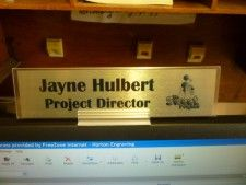 Personalised Name Plate For Desk