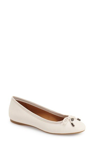 COACH 'Lara' Bow Flat (Women). #coach #shoes #flats