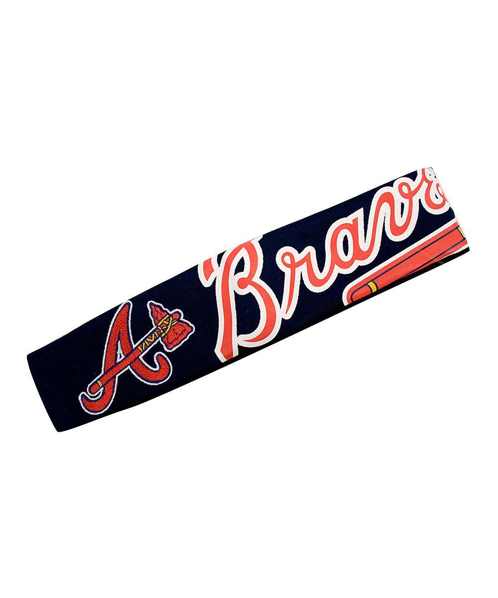 Atlanta Braves Fanband Headband Zulily Atlanta Braves Jersey Atlanta Braves Braves Jersey