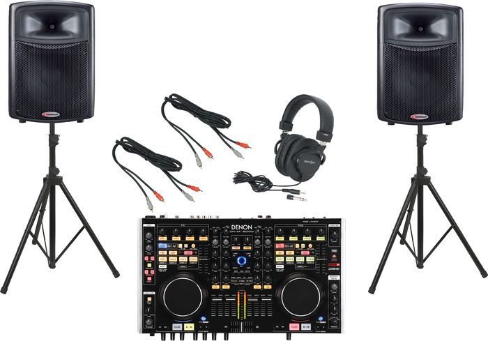 (Limited Supply) Click Image Above: Denon Dn-mc6000 / Harbinger Aps15 Dj Package
