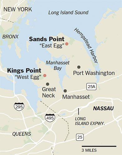 The Great Gatsby | Fitzgerald's Long Island: Kings Point end of ...