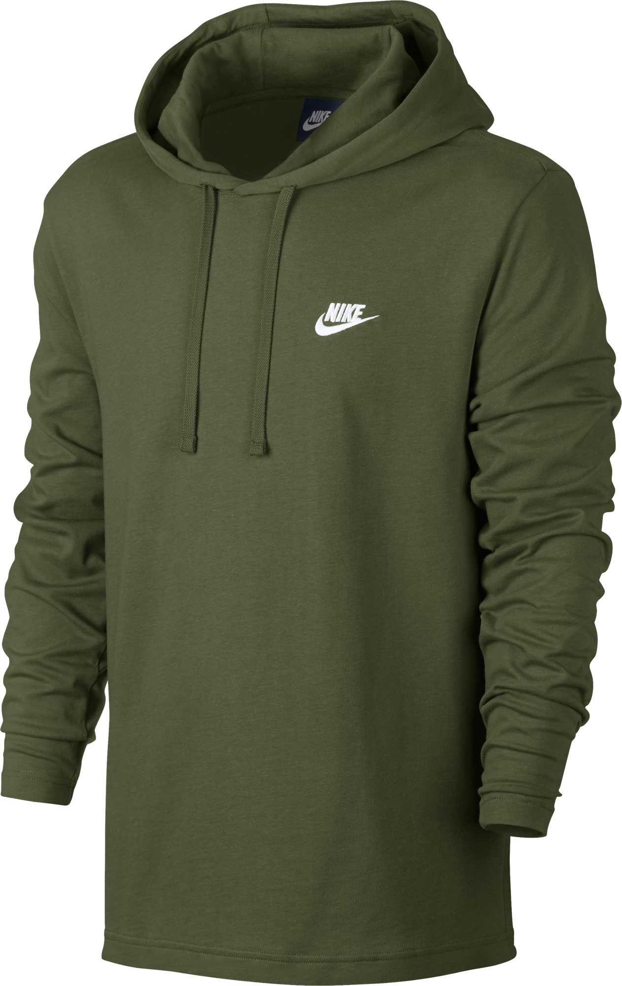 af0cf9dcca1 Nike Men s Sportswear Club Lightweight Hooded Pullover