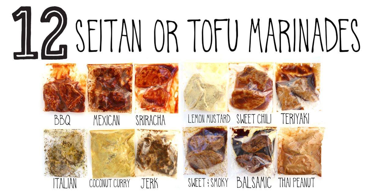 12 Seitan or Tofu Marinades Recipe Tofu marinade