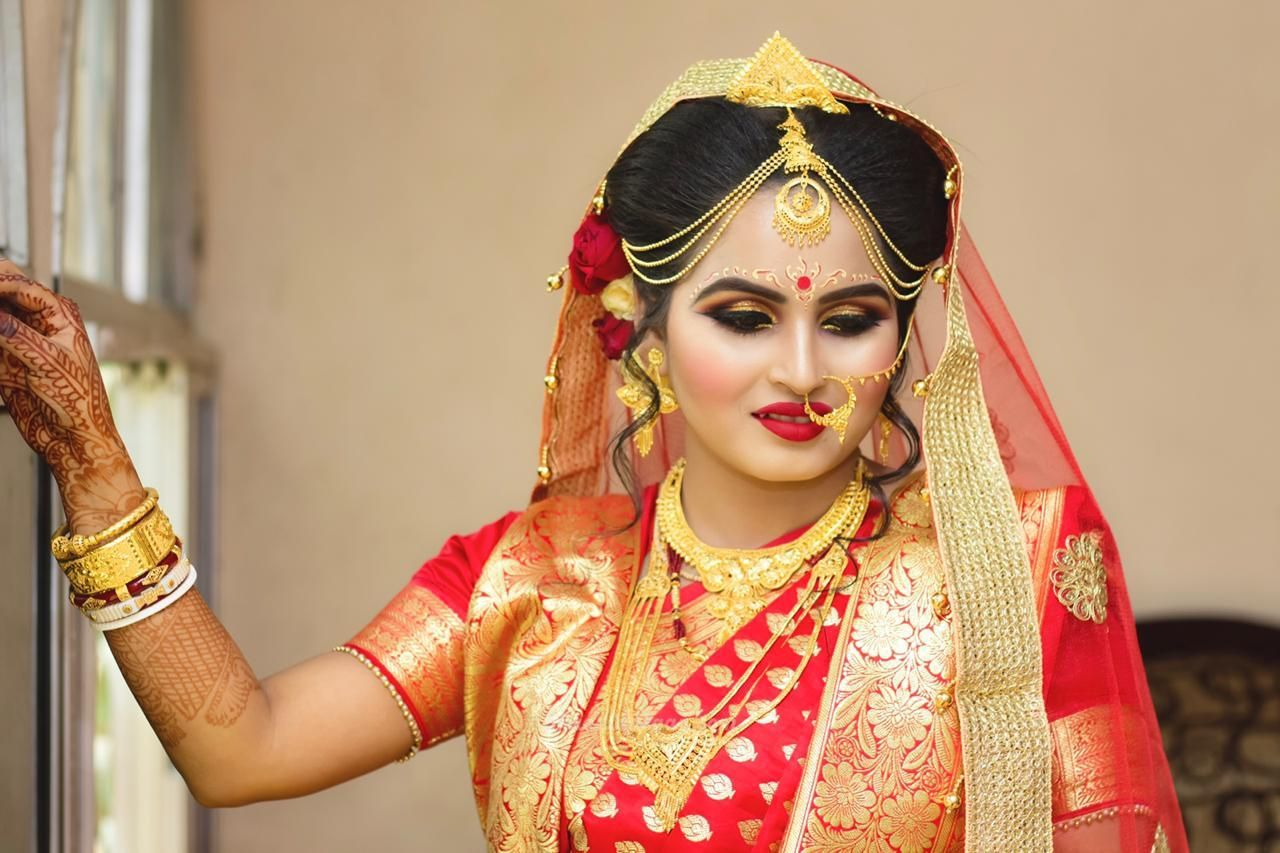 Bridal Makeup photos..bengalibride bridalmakeup