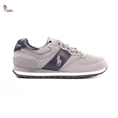 BASKET SLATON PONY POLO RALPH LAUREN - Chaussures polo ralph lauren  ( Partner-Link 55ae7f2dd45
