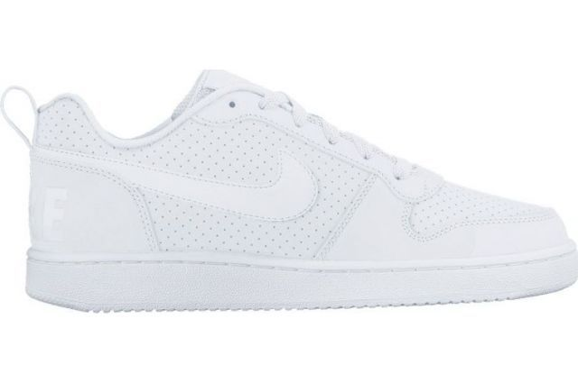 low priced d6500 cb4c6 Nike Court Borough Low White/White White Sneakers Nike, Women's Sneakers,  Leather And