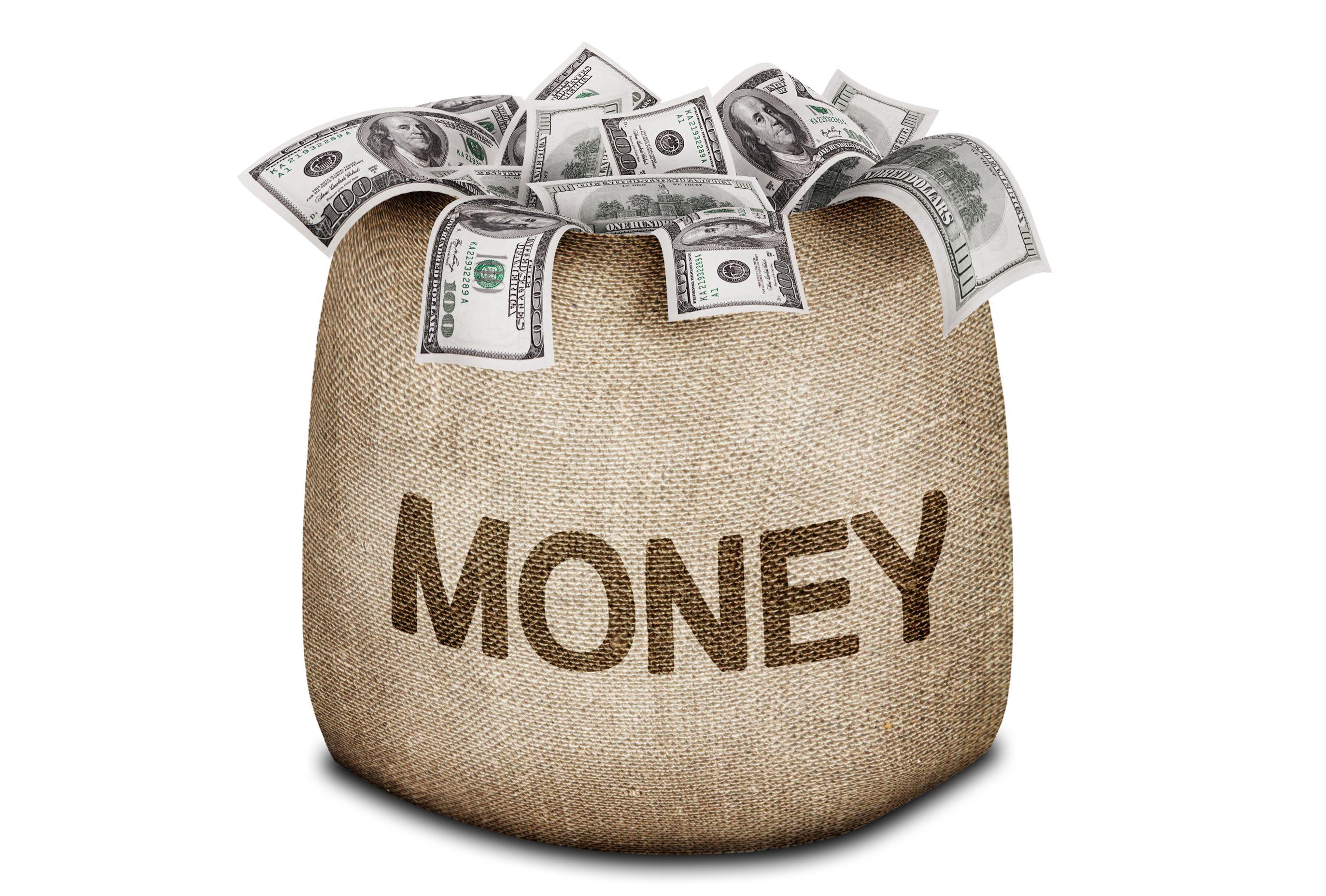 american dollar bag dollars