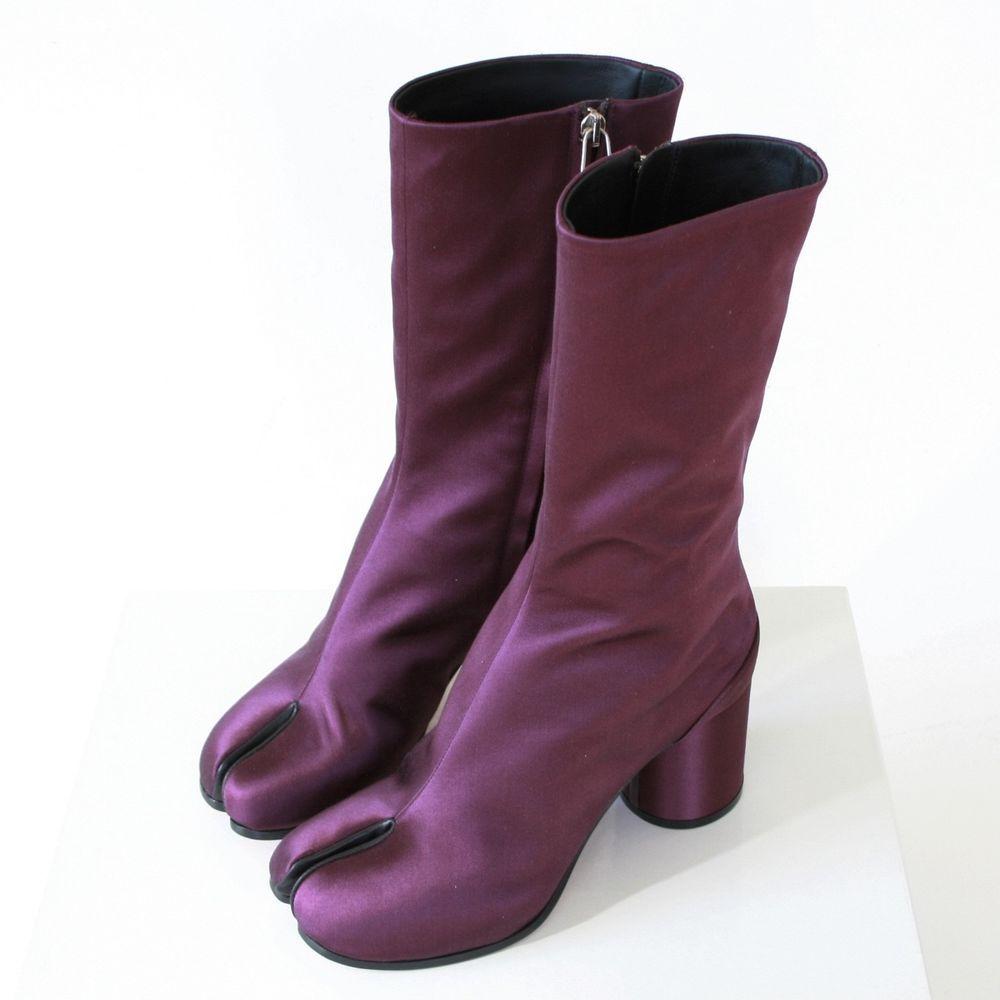 MAISON MARTIN MARGIELA split toe purple