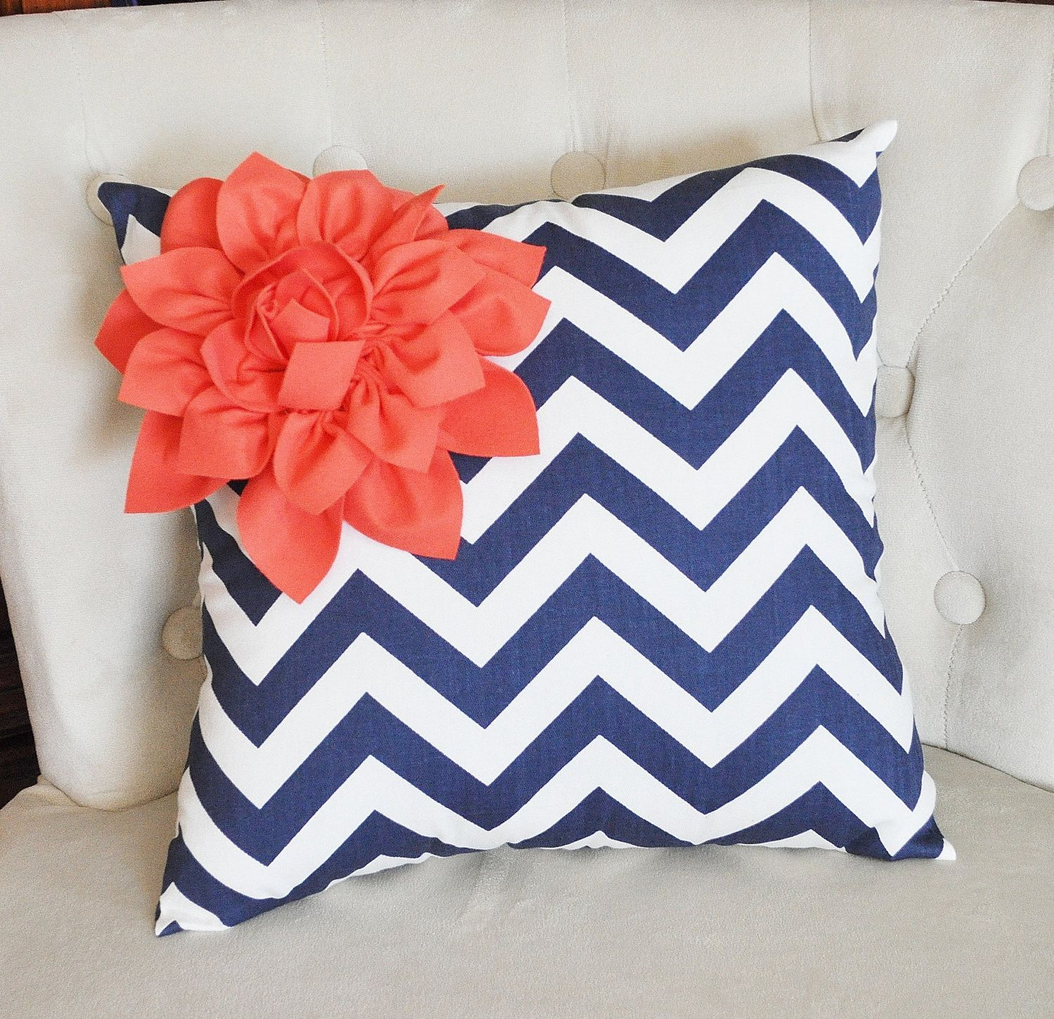 product pillow blue throw navy pillows coral cover and