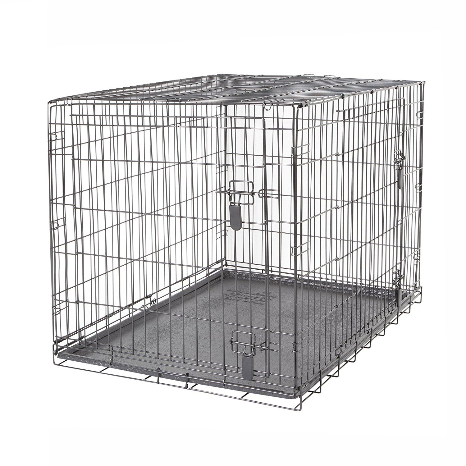 Dogit 2 Door Wire Home Crate With Divider To View Further Visit Now This Is An Amazon Affiliate Link I May Earn Commissio Dog Crate Dog Crate Sizes Crates