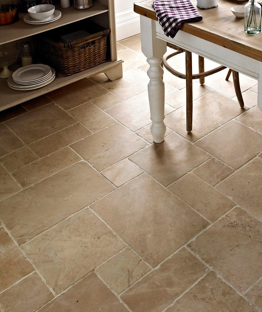 Sahara Dust Tumbled Mini Modular Tile Topps Tiles Kitchen