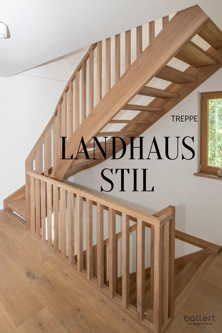 treppe landhausstil