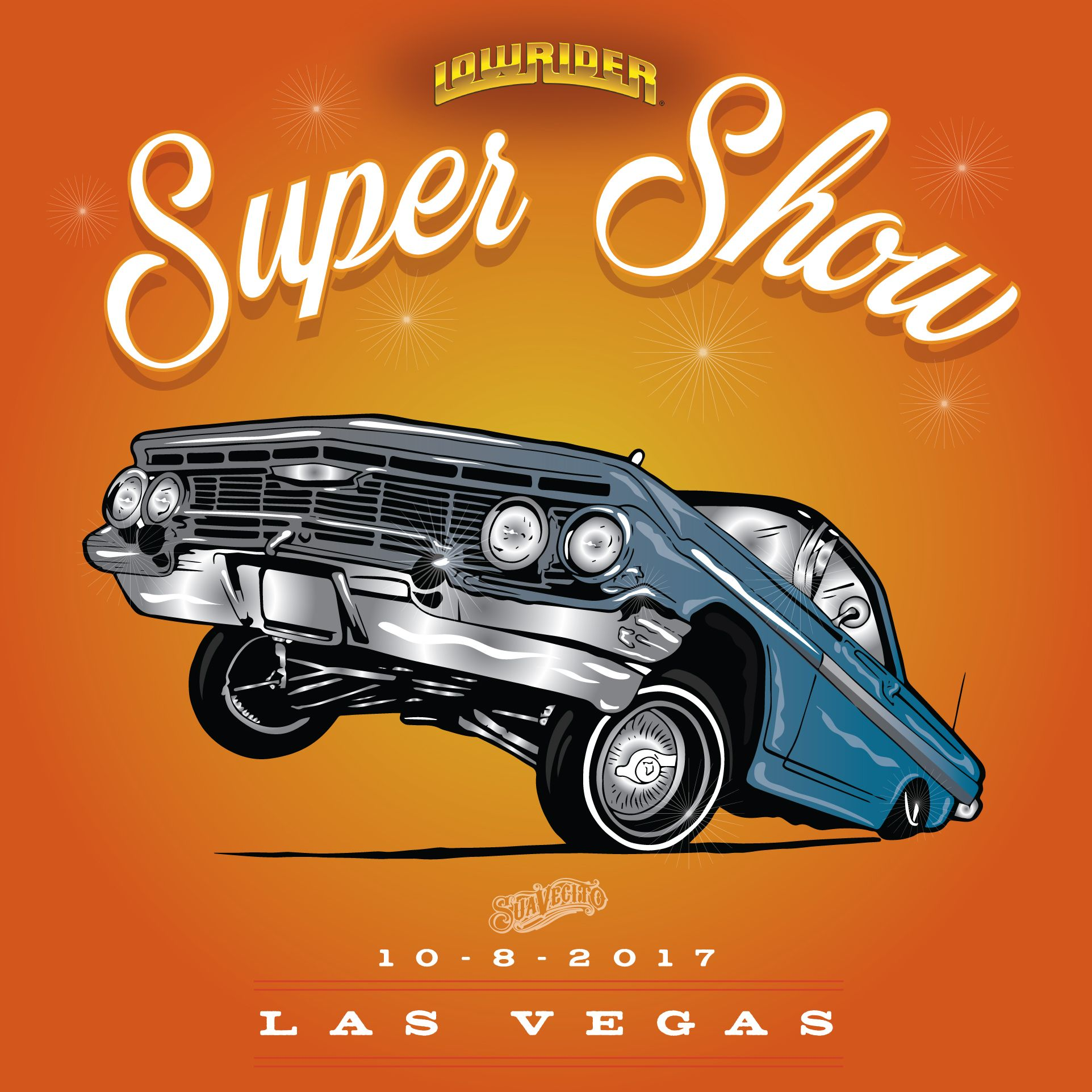 Join us for the hottest Lowrider Car Show this weekend in