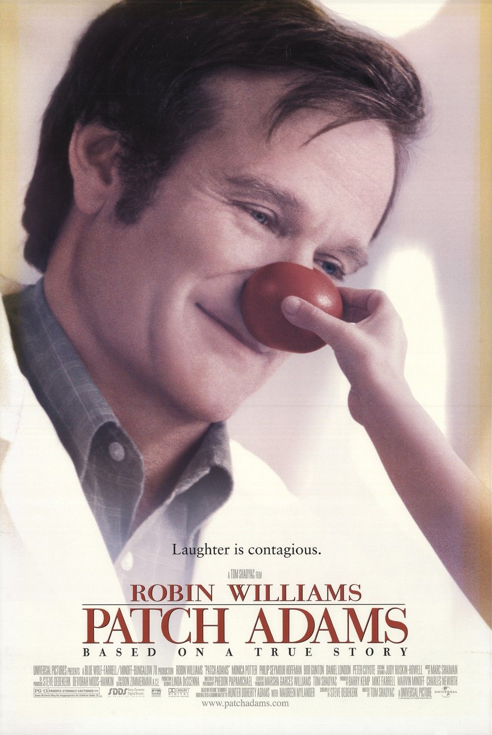 Return to the main poster page for Patch Adams (#1 of 4)