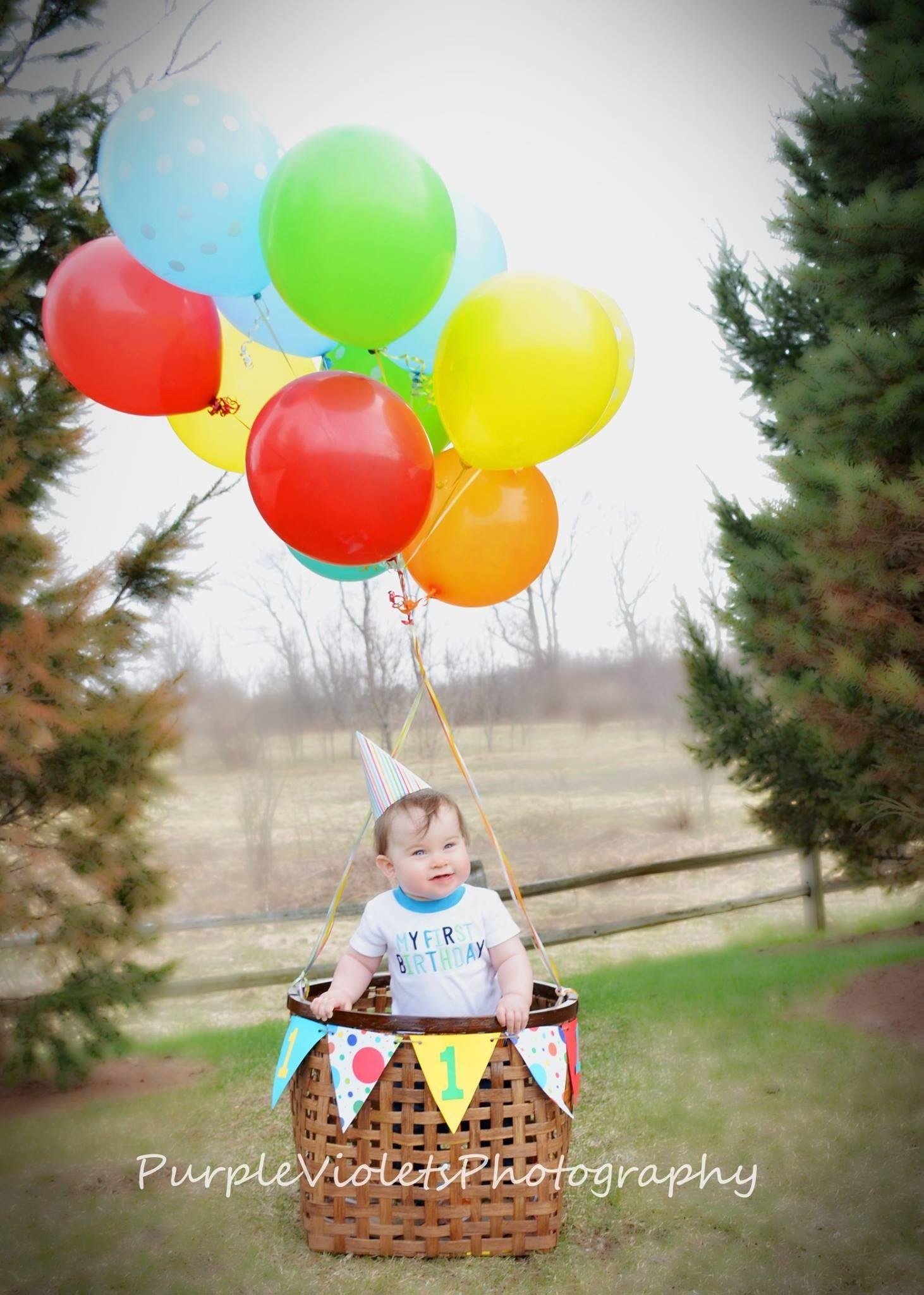 Baby boy first birthday photo shoot. Courtesy of ...