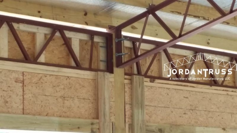 Photo Gallery Jordan Truss We Stand Under Our Work Photo Galleries Jordan Manufacturing Jordans