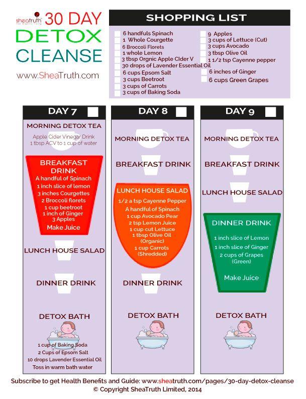 30 Day Detox Cleanse Days 10 12 Apple Cider Vinegar Detox Drink Apple Cider Vinegar Detox Drink Detox Cleanse Detox