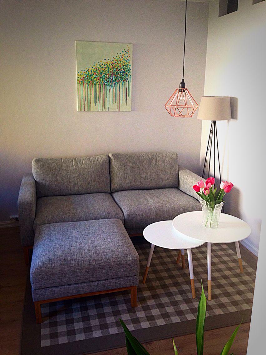 Living room  Studio apartment | Bolia | Kremmerhuset | Hadeland | Søstrene Grene | IKEA
