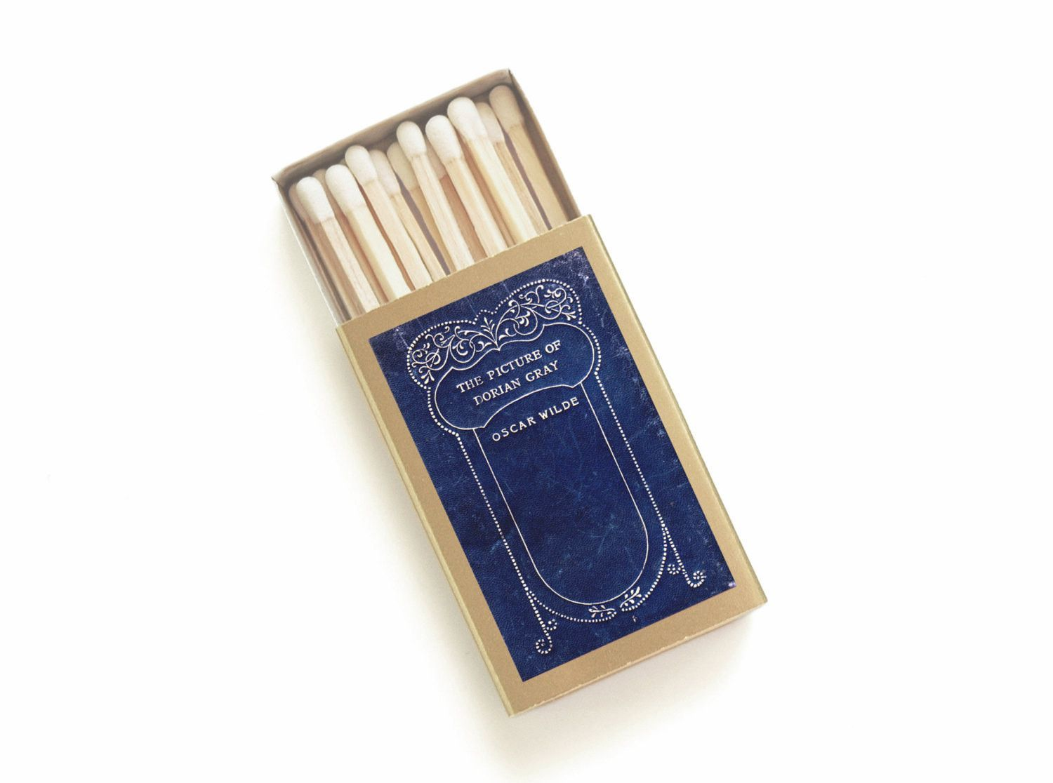 The Picture of Dorian Gray - Oscar Wilde Matchbox - Literary Matches ...
