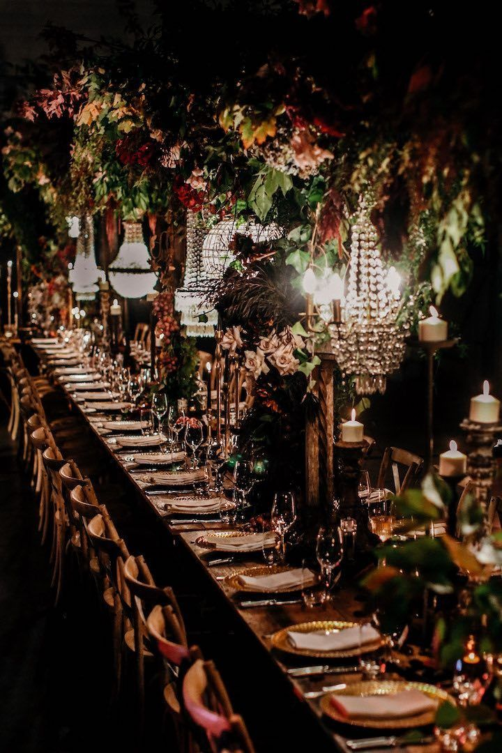 Bohemian Red and Pink Floral Glam Luxury Wedding in Ireland - MODwedding