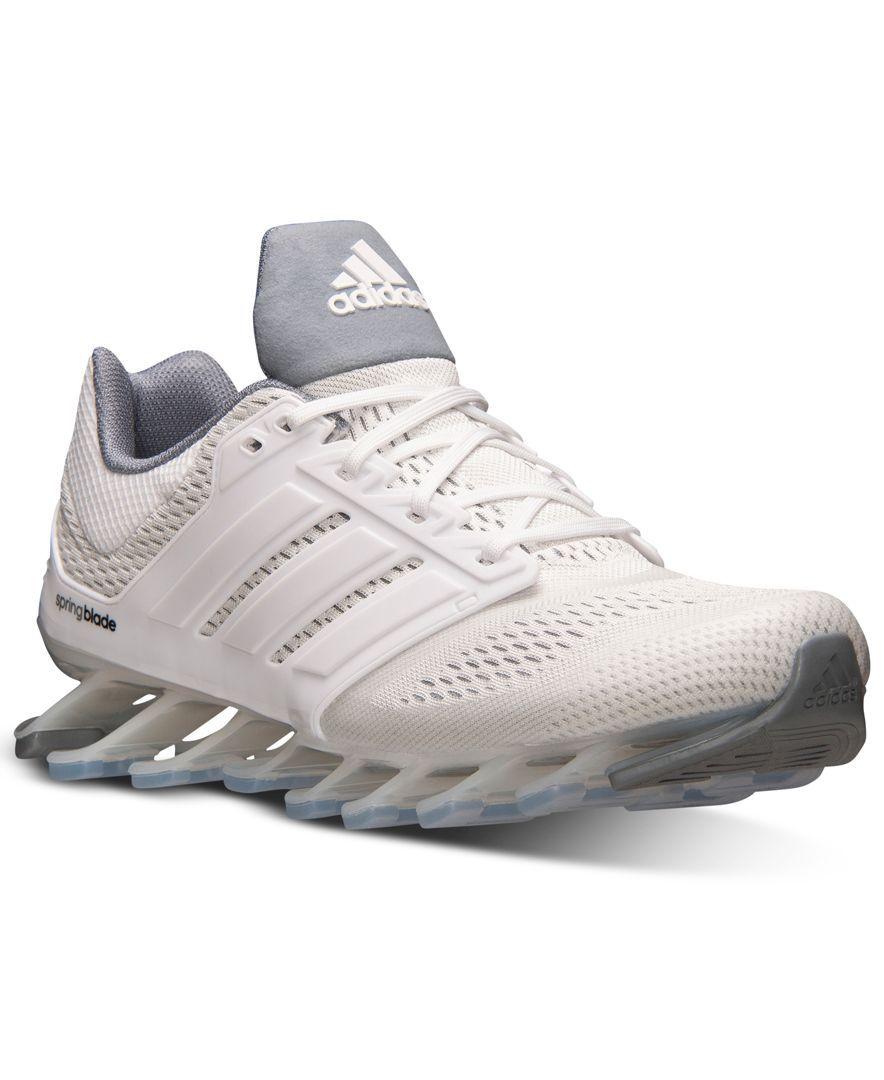 Adidas hombre 's springblade Drive corriendo Zapatillas meta de la línea de meta Zapatillas fdb91c