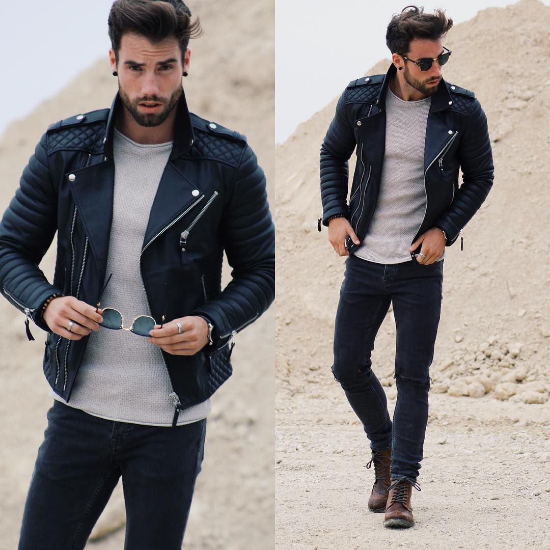 Bad Boy Style Outfit Men 39 S Fashion Pinterest Moda Masculina Chaquetas Y Estilo