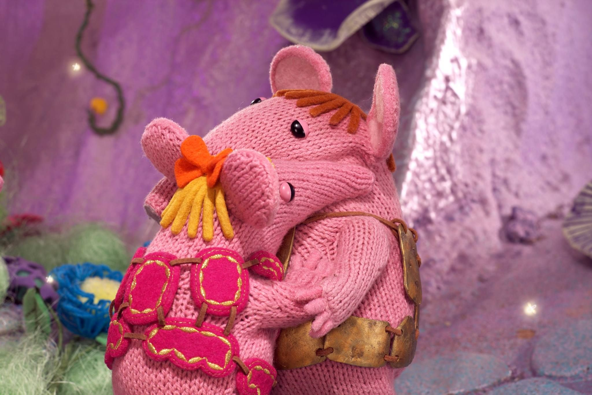 Hugs with Dad :) #Clangers | Clangers TV Show | Pinterest ...