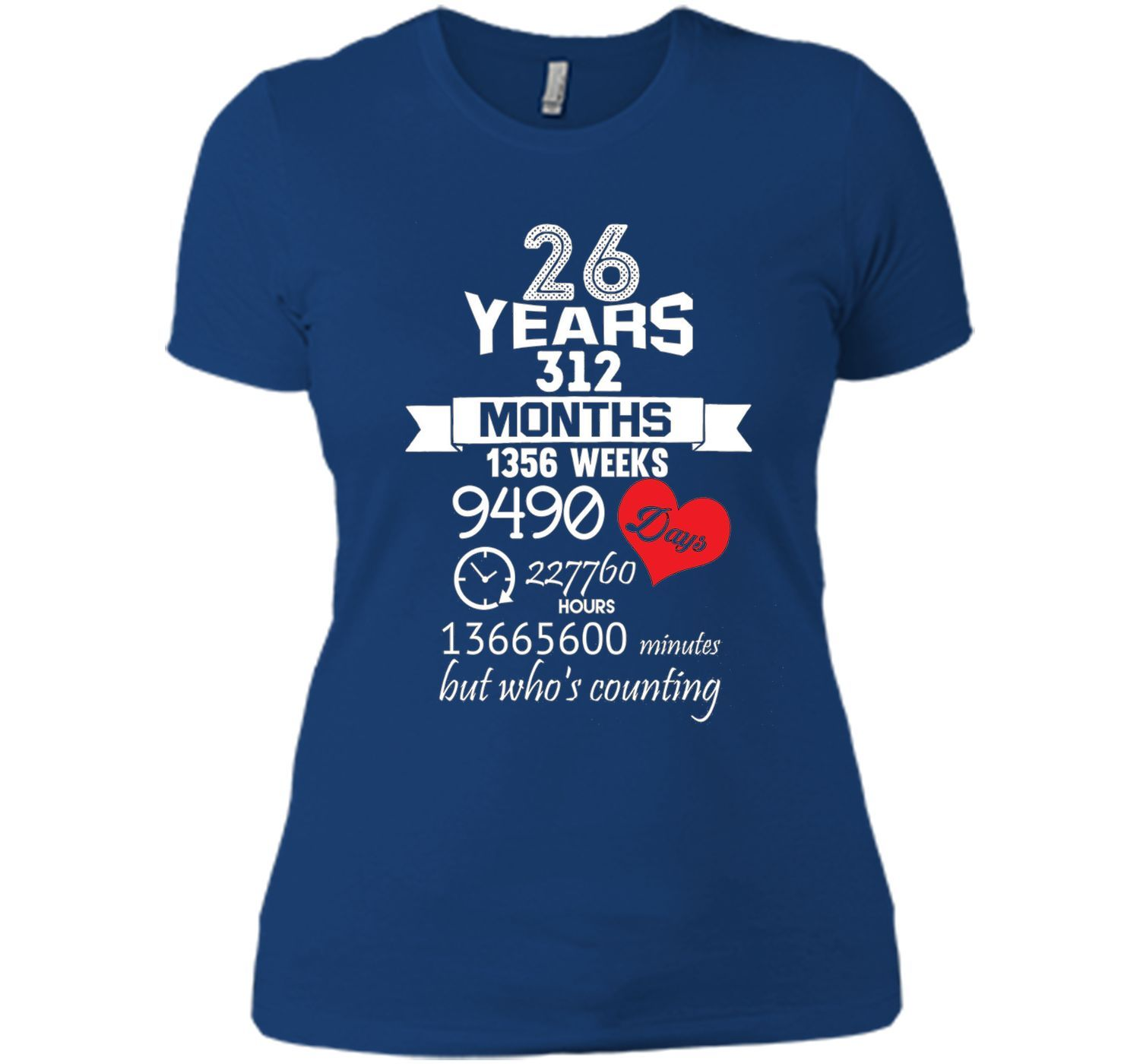 Anniversary Gift 26th - 26 years Wedding Marriage ideas ...