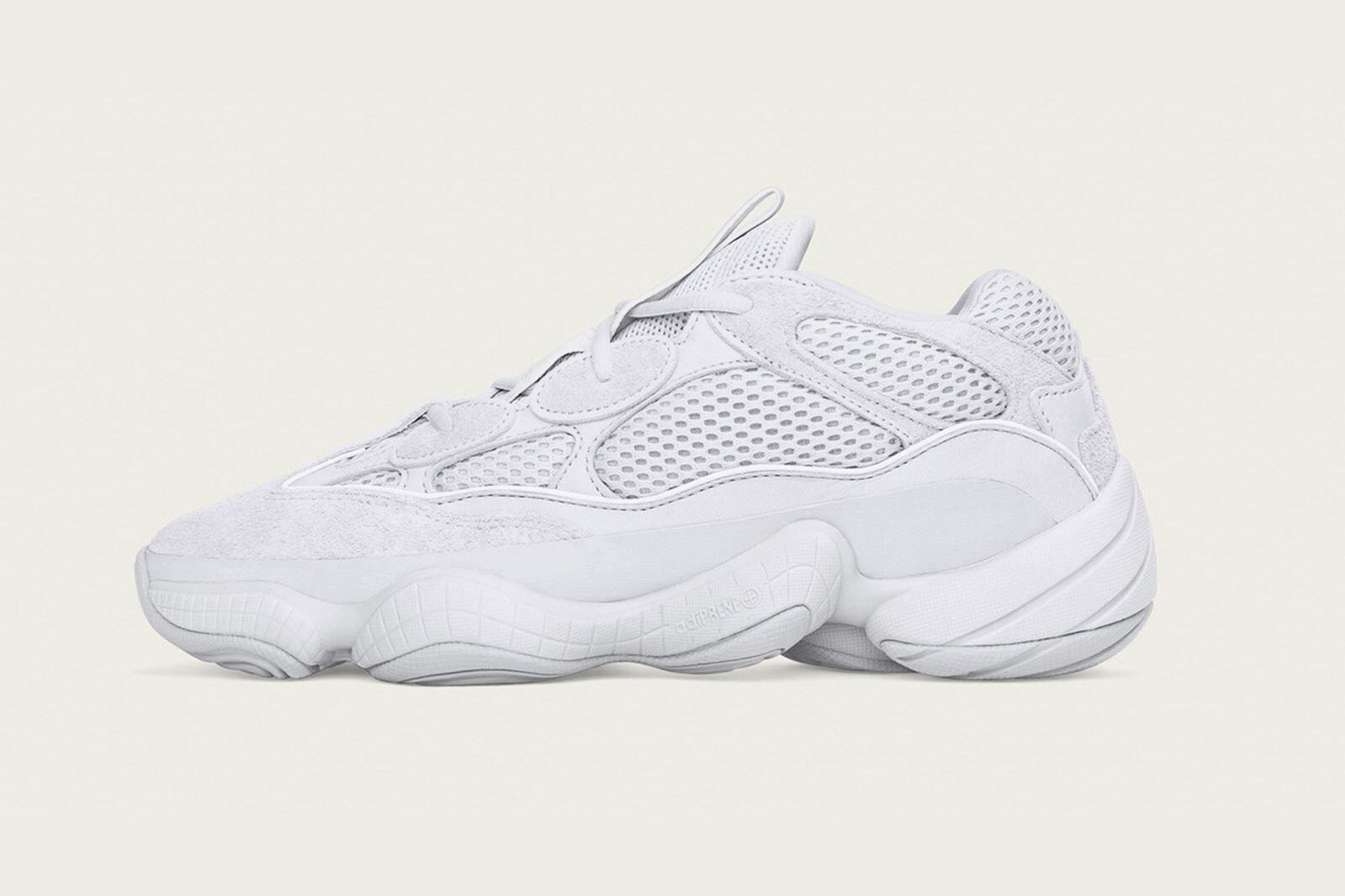2911c88bc79ae adidas YEEZY 500 in Salt White for 2018 - EU Kicks  Sneaker Magazine