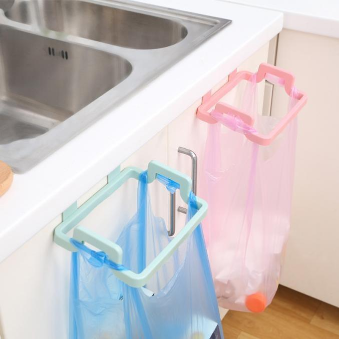 Plastic Cabinet Kitchen Organizer Portable Kitchen Trash Bag Holder Garbage Bag  Holder Incognito Cabinets Cloth Rack