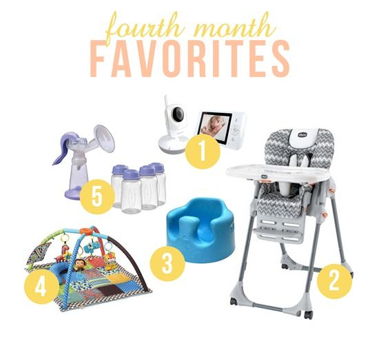 Baby Must Haves: 4 months