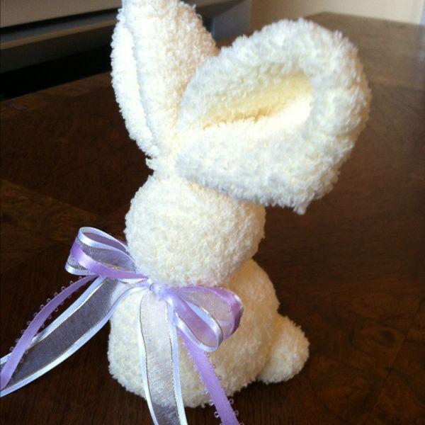 Rabbit made of socks! diy-craft-projects