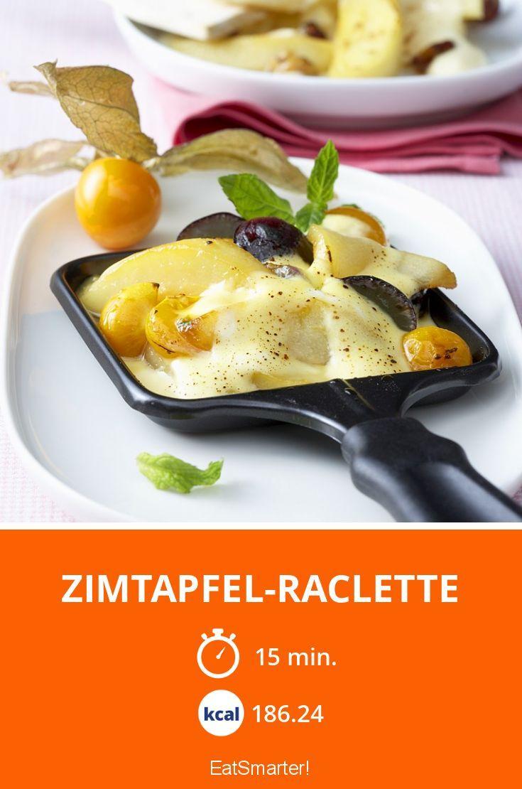 Zimtapfel-Raclette #racletteideen