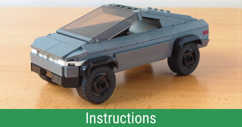 Build And Own The Tesla Cybertruck Right Now Instructions Lego