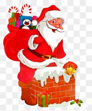 Christmas Santa Claus Png Kids Christmas Santa Coloring Pages Animated Christmas