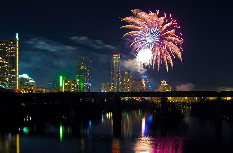10 Best Places To Spend New Years Eve In Texas New Years Eve Fireworks New Years Traditions New Year Celebration