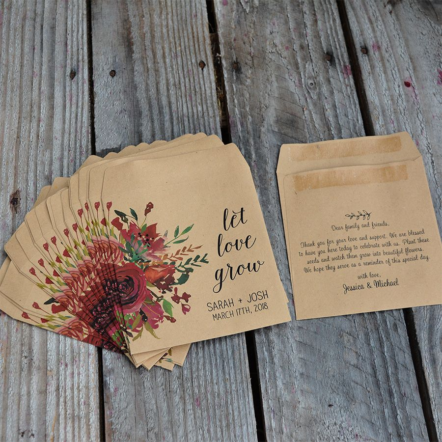 Let love grow with these stunning printed