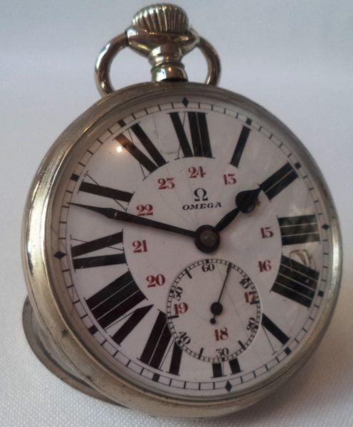 cf00df92c59 Relógio de bolso Omega