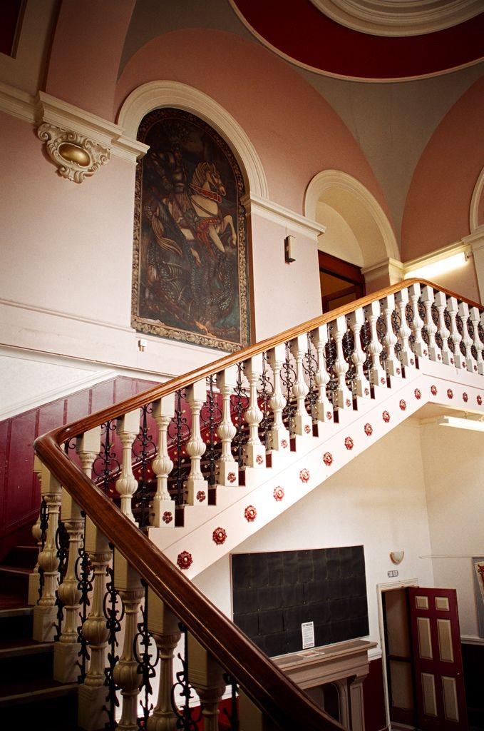 https://flic.kr/p/6F6srM | Foyer Staircase 2003