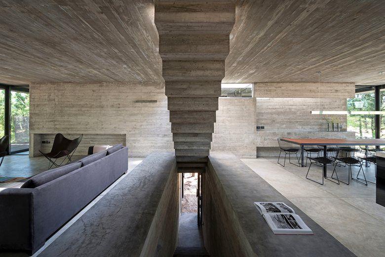 L4 HOUSE DI LUCIANO KRUK: ARCHITETTURA+CEMENTO+ACQUA