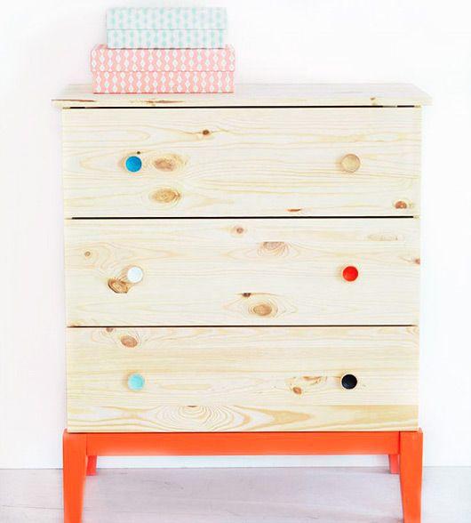 IKEA Brakig Dresser Done Eco Chic. Low Voc Paint For Babyu0027s Room.