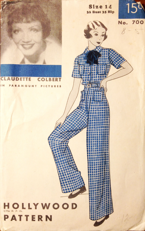 6c689282e Hollywood Pattern 700 (1934) | AÑOS 30 | Pinterest | Figurin ...