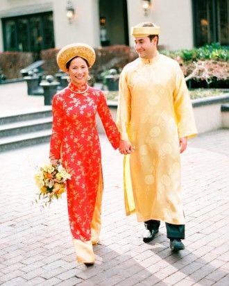 Ally And Adam's Vietnamese Tea Ceremony And Backyard Wedding In Utah - Unique Threads