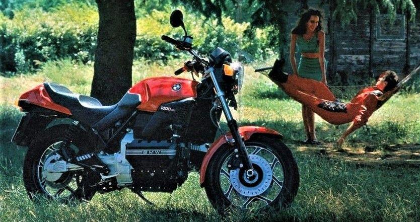 1989 BMW K100 - Moto.ZombDrive.COM