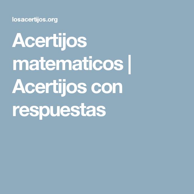 ACERTIJOS CON RESPUESTAS EPUB DOWNLOAD