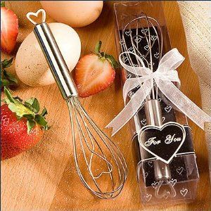 Heart Design Wire Wisk Favors
