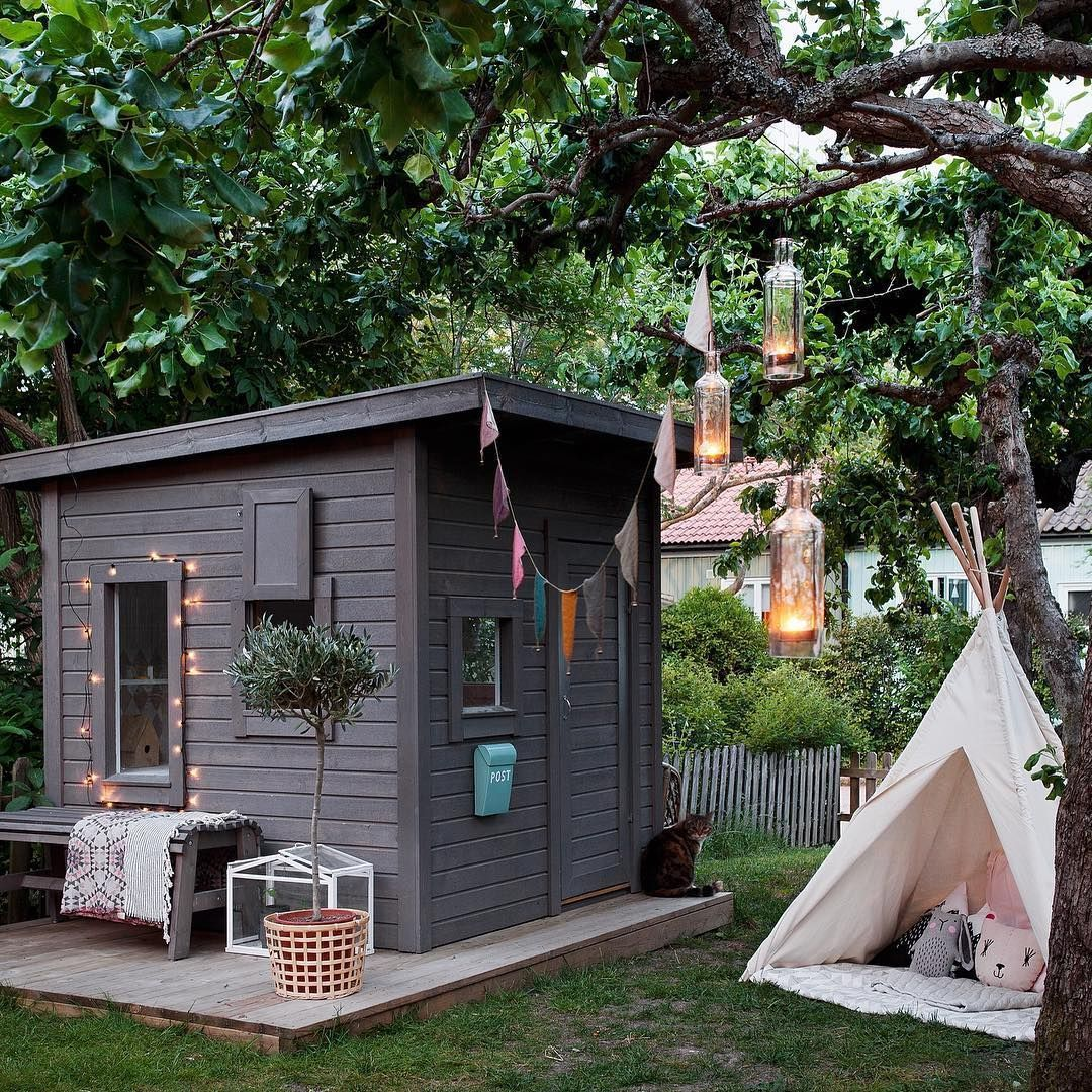 Building or buying  cubby house for your kids look no further here are four of the best ideas we  ve found on instagram including playhouses also rh pinterest