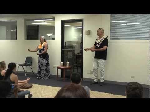 Native Hawaiian Speaker Series Guests: Robert Cazimero & Mapuana De Silva - YouTube